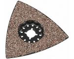 Universaaltööriista lihvimisplaat Expert kolmnurkne