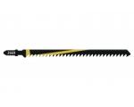 Tikksae terad 2tk. 125mm HCS T-kinnitus kõva puit/laastplaat/vineer jäme lõige