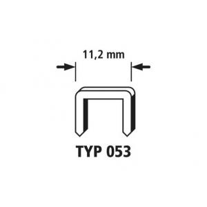 Klambrid tüüp 053 1000 tk. 12mm