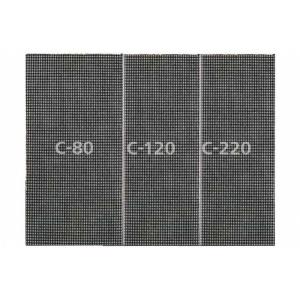 Raspelriide(võrk) komplekt 115x230mm K80/K120/K220 5 tk