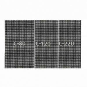 Raspelriide(võrk) komplekt 93x190mm K80/K120/K220 5 tk