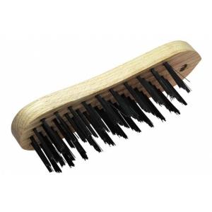 *Käsihari 205mm 5-realine terastraat puitkäepide